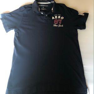Aeropostale A87 Large Polo Shirt